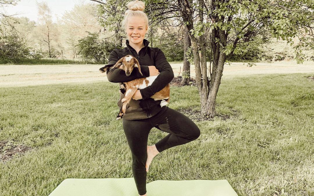 Goat Yoga On The Stenner Farm