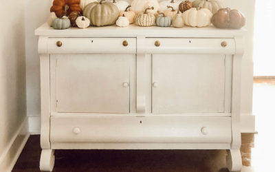 An Easy Buffet Makeover With Paint