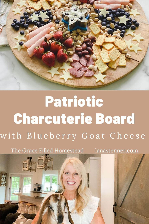 Patriotic Charcuterie Board