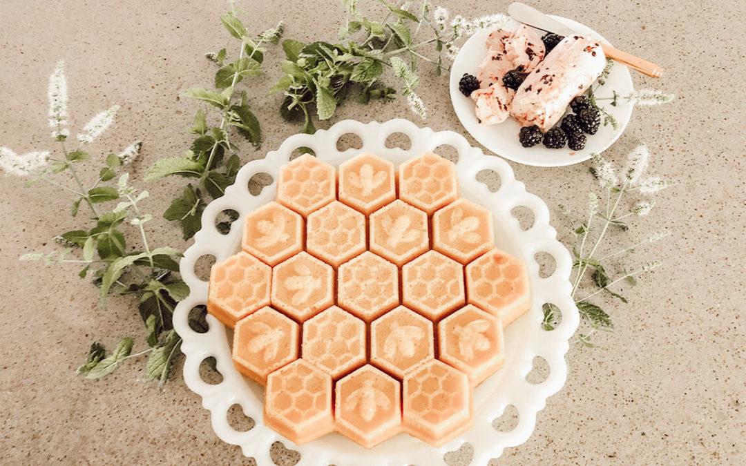Sweet Honey Cornbread Recipe with Blackberry Honey Butter